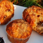 Muffins aux cerises amarena et gingembre
