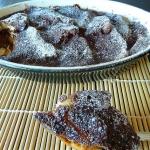 Bread and Butter pudding au chocolat et à la cardamome