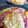 Salade croquante de légumes d'hiver au raifort