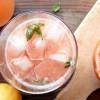 Limonade au pamplemousse, au citron et à la menthe