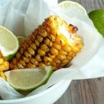 Maïs grillé aux épices et citron vert