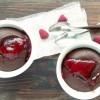 Moelleux au chocolat cœur framboise