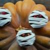 Cupcakes momies {Halloween}