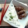 Yakitori de bœuf au fromage