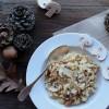 Risotto aux cèpes séchés et champignons de Paris {Pour préparer Noël #2}