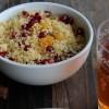 Couscous à la grenade et aux raisins