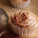 Cupcakes au cream cheese et à la crème de marrons {sans gluten}