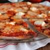 Pizza 4 fromages, roquefort, mozzarella, parmesan et ricotta