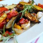 Légumes grillés au romarin