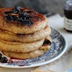 Pancakes complets aux myrtilles
