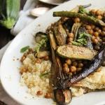 Légumes d'été rôtis au zaatar