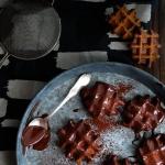 Gaufres chocolat ultimes {vegan}