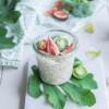 Overnight chia pudding aux flocons de céréales {vegan}