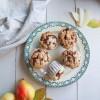 Muffins streusel à la poire {sans lait}