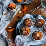 Muffins abricot amandes {sans lait - sans gluten}