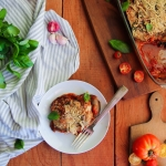 Parmesane d'aubergines {vegan - sans gluten}