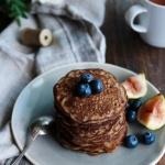 Pancakes au sarrasin {vegan - sans gluten}