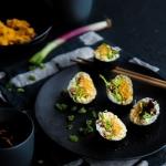 Veggie maki aux shitakés et carottes