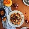 Courge rôtie, quinoa et grenade {vegan - sans gluten}