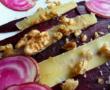 Ananas rôti au four, grenadille, vanille et rhum