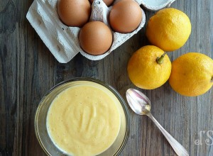 Lemon curd à la bergamote