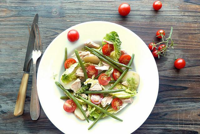Salade compos e de l gumes d 39 t aime mange - Salade d ete composee ...