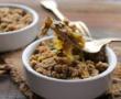 Salade de kamut, potiron et pois-chiches