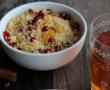 Potiron et pois-chiches rôtis aux épices