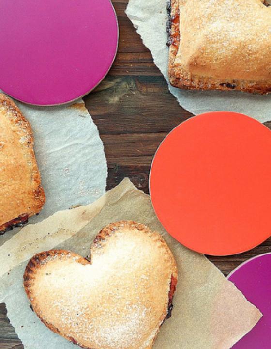 Heart pie à la pomme rouge {Saint-Valentin}