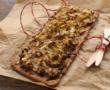 Lasagnes roulées à l'artichaut, ricotta, mozzarella et sauge