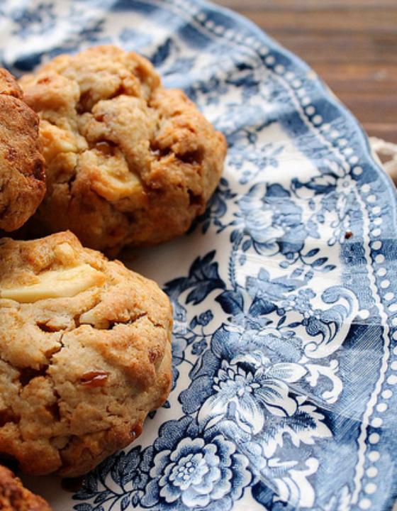 Cookies au chocolat blanc et pépites de caramel beurre salé