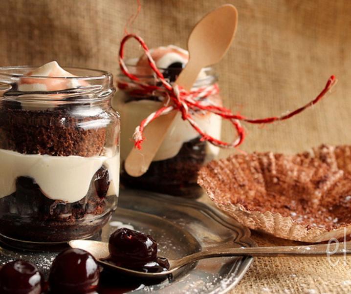 Forêt noire «in a jar» {Battle Food #9}
