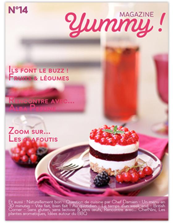 Je suis dans le n°14 de Yummy Magazine !