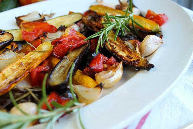 L gumes grill s au romarin aime mange - Recette legumes grilles au four ...