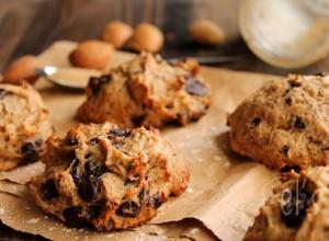 Cookies banane chocolat à la purée d