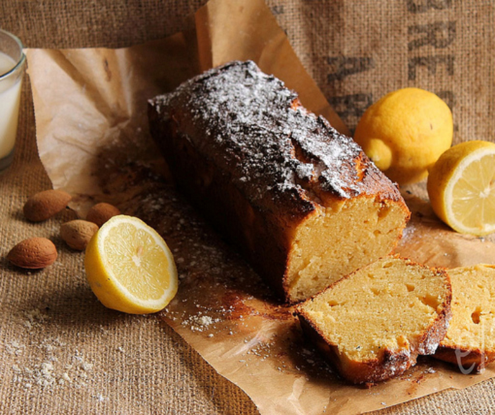 Cake au citron et mascarpone {sans gluten}