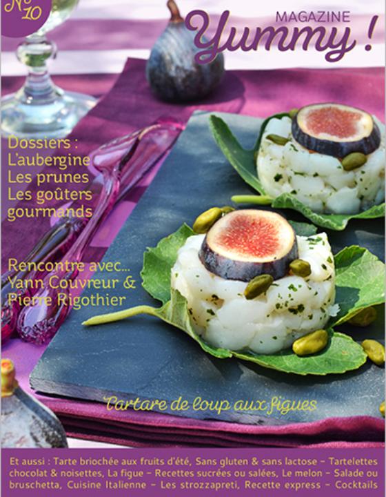 Je suis dans le n°10 de Yummy Magazine !