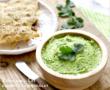 Sablé au parmesan, légumes croquants et crème mascarpone