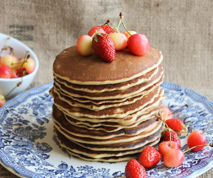 Pancakes {sans lait}