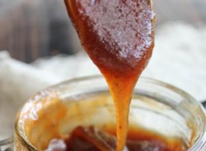 Sauce caramel {vegan}