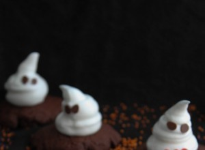 Cookies fantômes {Halloween}