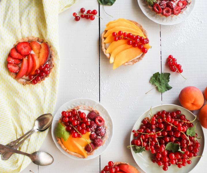Tartelette aux fruits {vegan}