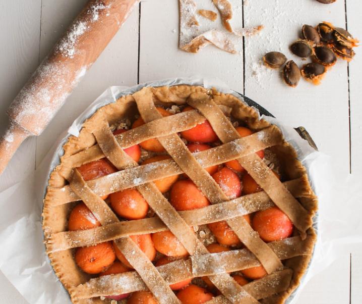 Tarte aux abricots {vegan}
