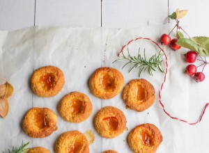 Biscuits empreinte courge-orange (vegan}