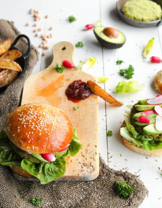 Burger falafel