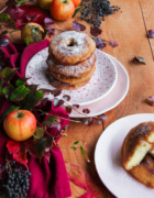 Tarte aux pommes et aux châtaignes {sans gluten – sans lait}