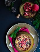 Gâteau de Noël aux airelles et clémentines {sans gluten – sans lait}