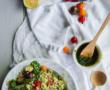 Tortilla de maïs {vegan – sans gluten}
