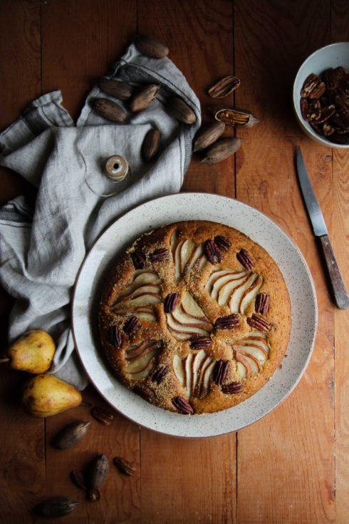 Gâteau aux poires