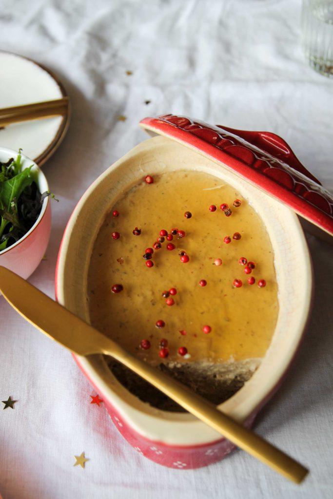 Mousse de foie gras végétal au Monbazillac {vegan- sans gluten}